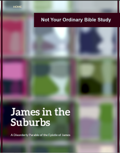 April's New Book, James in the Suburbs, a parable commentary on the Epistle of James is available September 2014 at Amazon. Click here for more information.