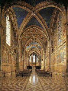 Basilica of St. Francis in Assisi, Italy