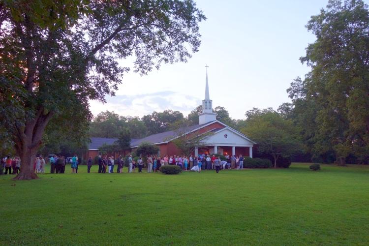 Maranatha Baptist Church, Plains, Georgia, August 23, 2015
