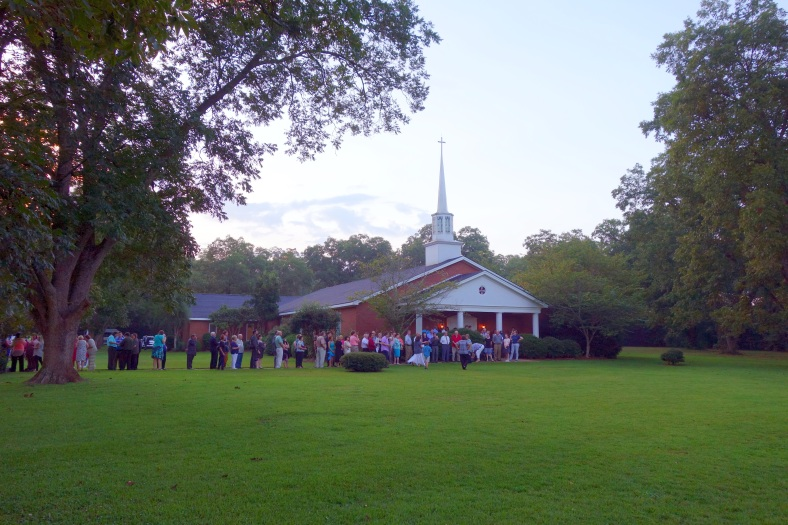 Maranatha Baptist Church, Plains, Georgia, August 23, 2015