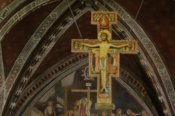 Cross that spoke to St. Francis
