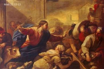 Matt 21.12-13